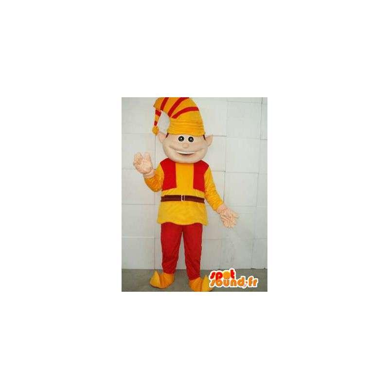 Klaun Maskot - Lutín - Oblek pro vánoční svátky - MASFR00118 - Vánoční Maskoti