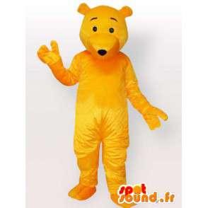 Maskotti keltainen karhu - bear puku pian saatavilla - MASFR00898 - Bear Mascot