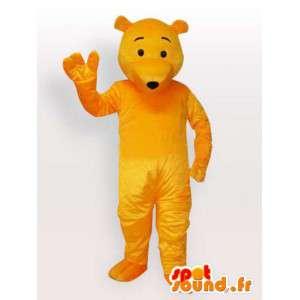 Maskot gul bjørn - bære kostyme tilgjengelig snart - MASFR00898 - bjørn Mascot