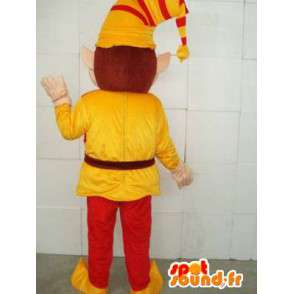 Mascotte Clown - Lutin - Costume pour les fêtes de noel - MASFR00118 - Mascottes Noël
