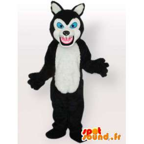 Mascot bear with big teeth - bear costume - MASFR00892 - Bear mascot