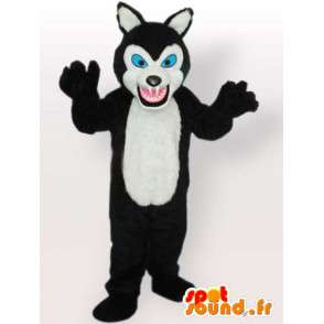 Mascotte karhu iso hampaat - bear puku - MASFR00892 - Bear Mascot