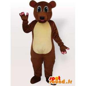 Costume do urso marrom todos os tamanhos - Disfarce urso pardo