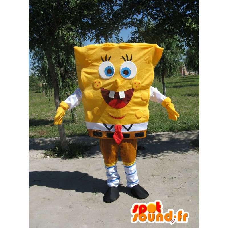 Mascot SpongeBob - beroemde mascotte Purchase - MASFR00102 - Bob spons Mascottes