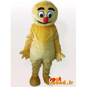 Traje del polluelo de peluche - traje amarillo