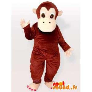 Funny apina maskotti - monkey puku kaikenkokoiset