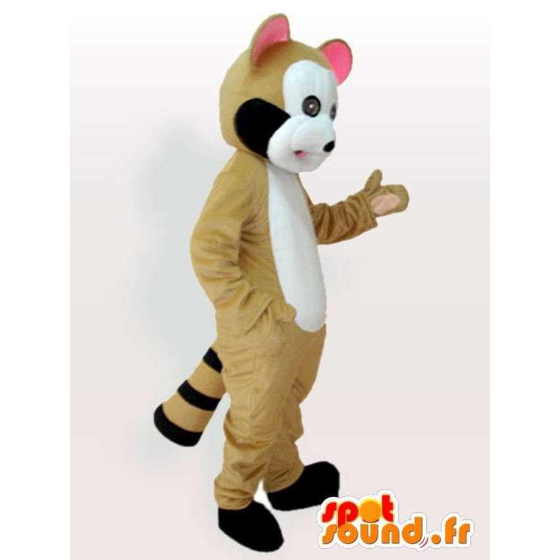 Mascotte de capucin caramel - Déguisement capucin de qualité - MASFR00900 - Animaux de la jungle