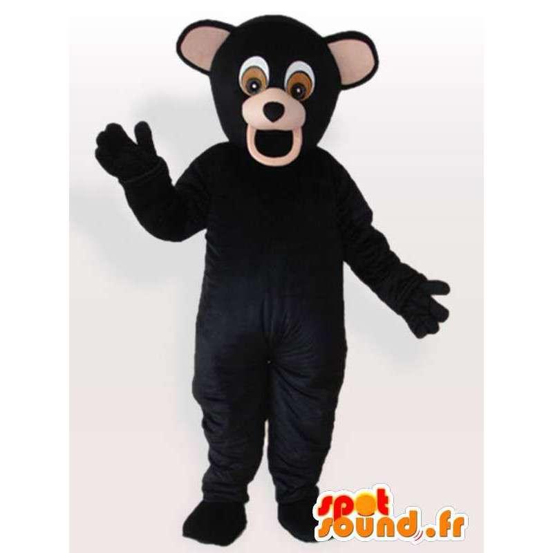 Chimpanzee plush costume - Costume all sizes - MASFR00901 - Mascots monkey