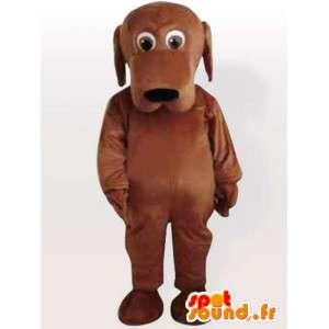 Doogy cão mascote - traje do cão todos os tamanhos - MASFR00905 - Mascotes cão