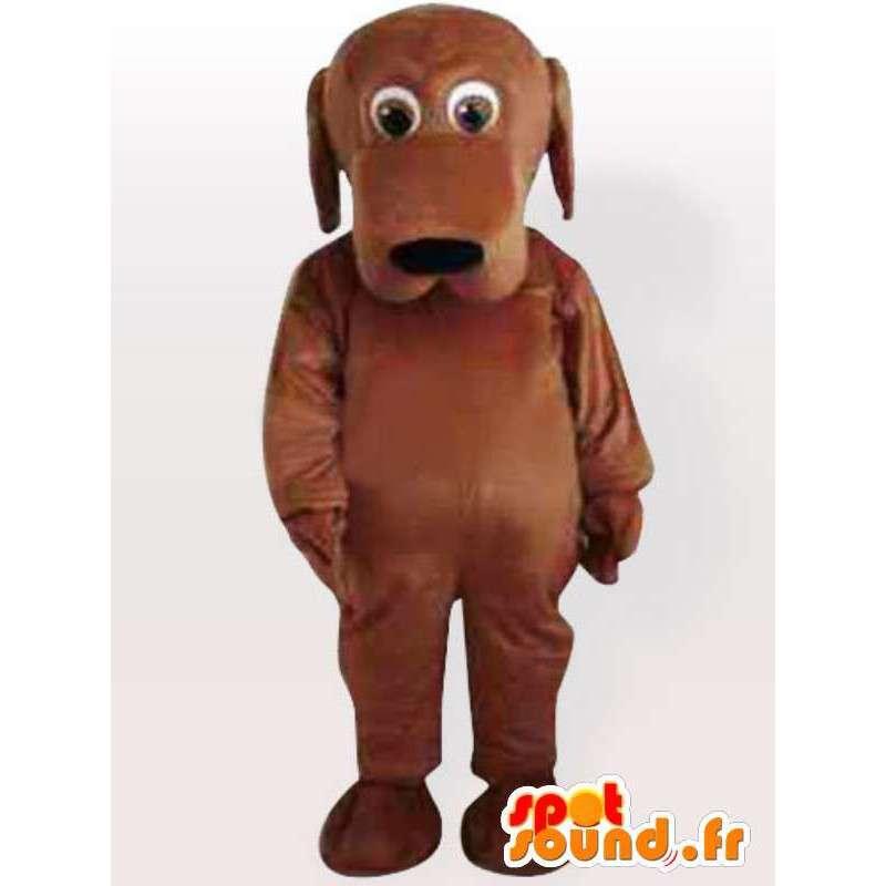 Doogy maskot hund - hund kostyme alle størrelser - MASFR00905 - Dog Maskoter