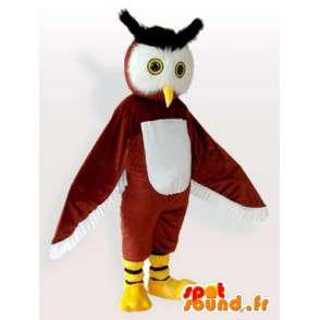 Kostüm Uhu - Eule Kostüm alle Größen - MASFR00907 - Maskottchen der Vögel