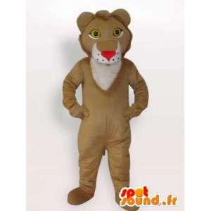 Mascot león real - traje de león de todos los tamaños