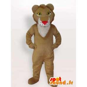 Mascot königliche Löwe - Löwen-Kostüm aller Größen - MASFR00908 - Löwen-Maskottchen