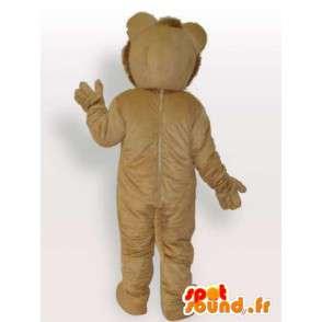 Mascot royal leijona - Lion puku kaikenkokoiset - MASFR00908 - Lion Maskotteja