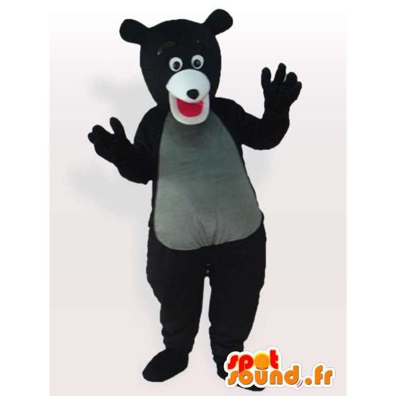Tragen Anzug clever - Verkleidung tragen überlegen - MASFR00909 - Bär Maskottchen