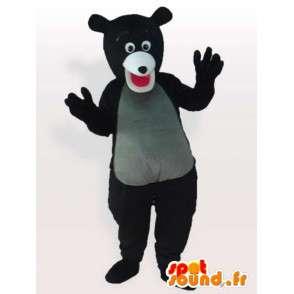 Maligní Bear Kostým - převlek superior medvědi - MASFR00909 - Bear Mascot