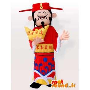Costume Japonais avec accessoires - Déguisement de toutes tailles - MASFR00910 - Mascottes Homme
