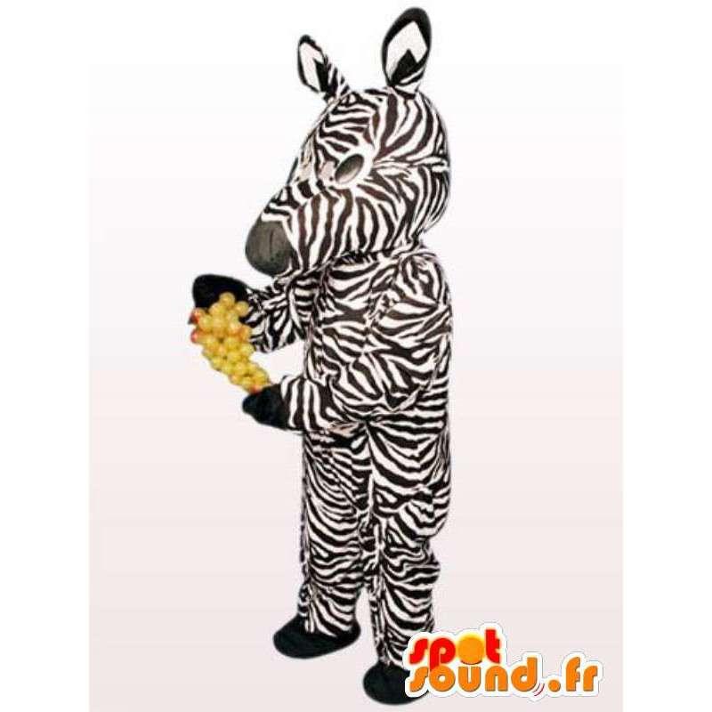 Zebra Costume - Animal Kostuums alle soorten en maten - MASFR00911 - jungle dieren