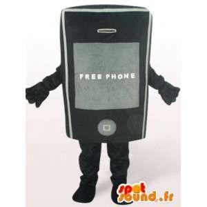 Handy Kostüm - Kostüm Zubehör jeder Größe - MASFR00919 - Maskottchen der Telefone