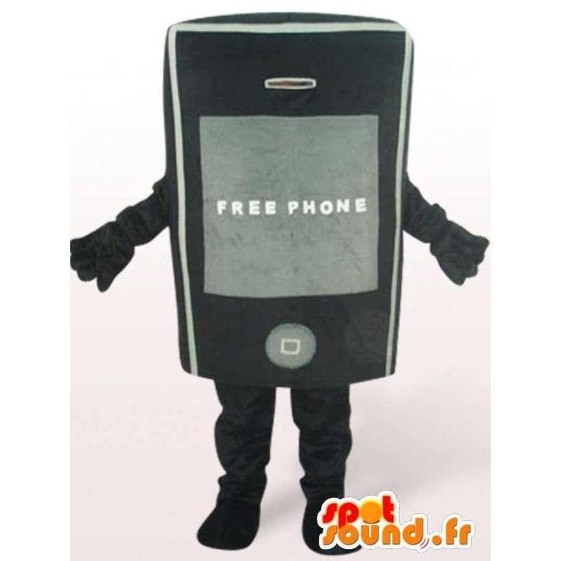 Kostium telefon - akcesoria strój dowolny rozmiar - MASFR00919 - maskotki telefony