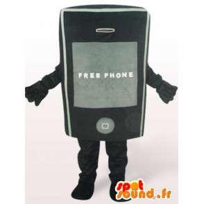 Costume mobile phone - costume accessory all sizes - MASFR00919 - Mascottes de téléphone