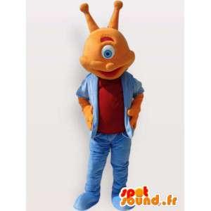 Blind alien kostyme - alien kostyme - MASFR00913 - utdødde dyr Maskoter