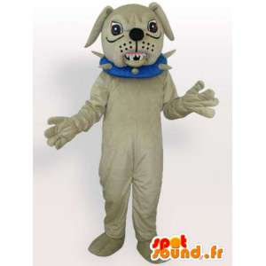 Vicious dog costume - Costume accessory with necklace