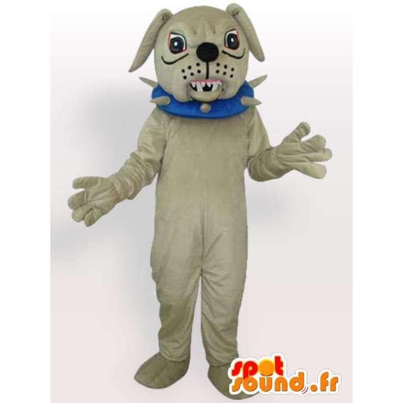 φαύλος κοστούμι σκυλί - κοστούμι με αξεσουάρ κολιέ - MASFR00916 - Μασκότ Dog