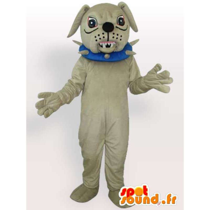 Zlý pes kostým - kostým s příslušenstvím náhrdelníkem - MASFR00916 - psí Maskoti