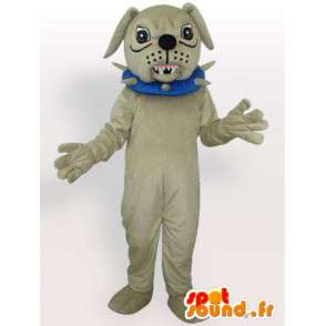 Dog-Kostüm böse - Kostüm Zubehör mit Halskette - MASFR00916 - Hund-Maskottchen