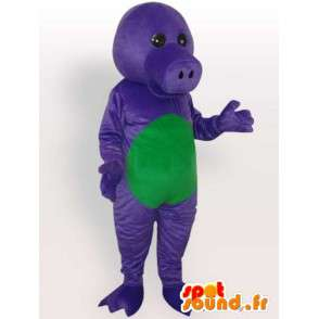 Alligator alligator costume fun dress blue - MASFR001082 - Mascots Crocodile