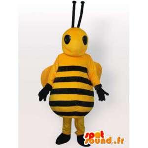 Bee Costume stor mage - Disguise alle størrelser - MASFR001064 - Bee Mascot