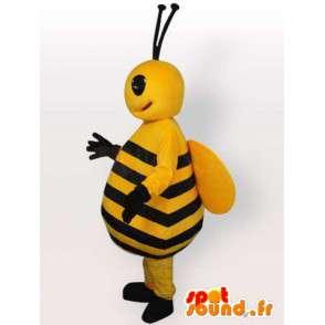 Bienenkostüm großen Bauch - Disguise alle Größen - MASFR001064 - Maskottchen Biene