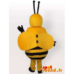 Bee costume belly fat - Costume all sizes - MASFR001064 - Mascots bee