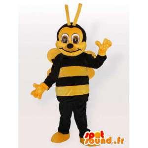 Felpa traje de la abeja - traje de todos los tamaños - MASFR001094 - Abeja de mascotas