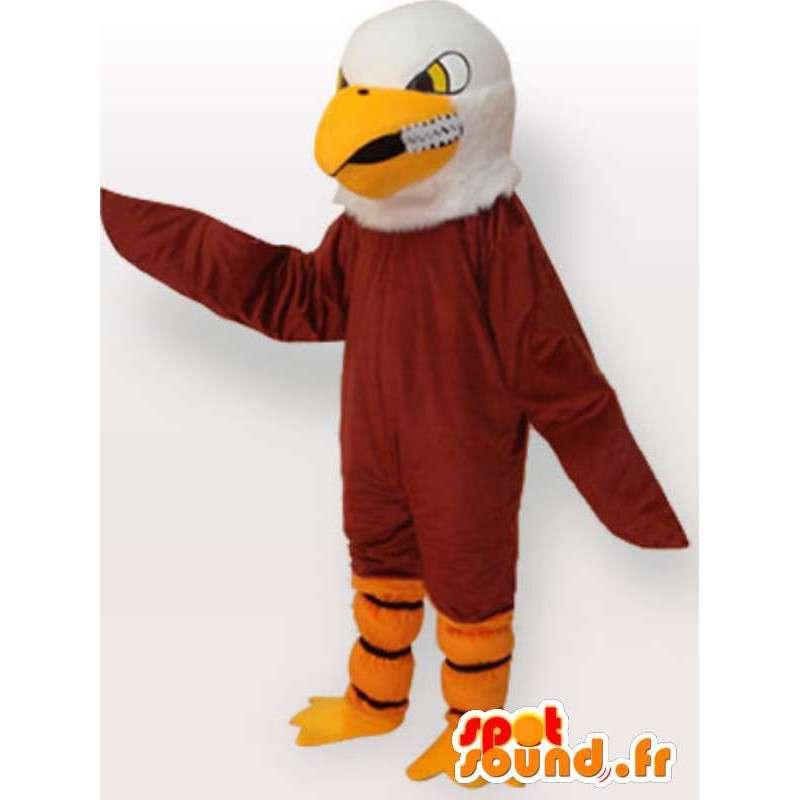 Kostým Golden Eagle - Eagle kostým teddy - MASFR00925 - maskot ptáci