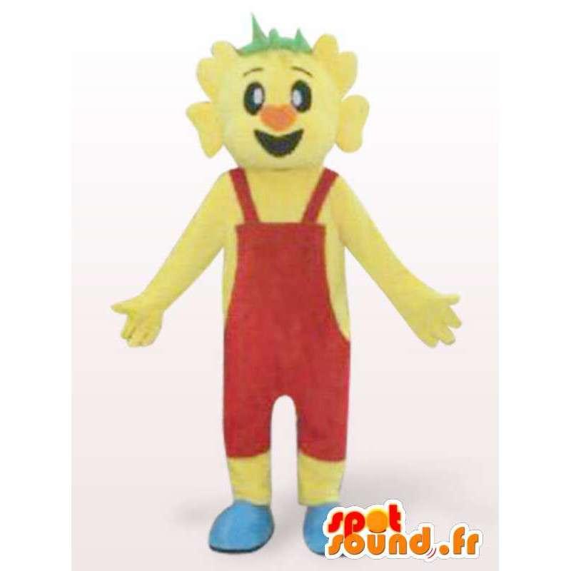 Costume d'homme en salopette rouge - Déguisement personnage - MASFR00939 - Mascottes Homme