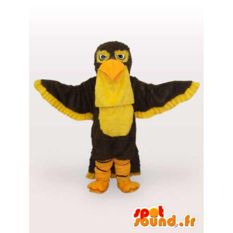 鳥の衣装に大きな羽 - 変装すべてのサイズ - MASFR00971 - マスコットの鳥