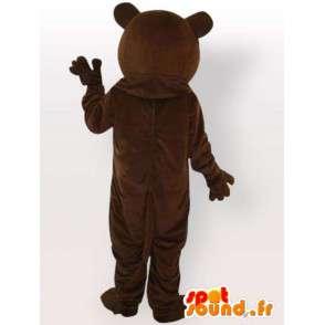 Divoký medvěd kostým - medvěd kostým s velkými zuby - MASFR001093 - Bear Mascot