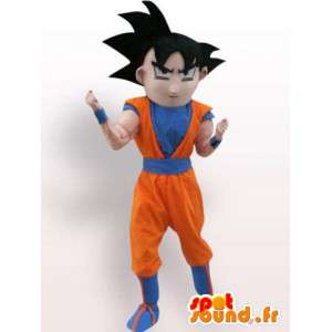 Pukunsa Goku Dragon Ball - laadukas puku - MASFR001076 - Dragon Mascot
