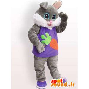 Cat suit pels - kledd katt kostyme