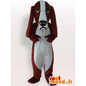 Pes kostým dlouhé čenichu - kvalitní kostým - MASFR00969 - psí Maskoti