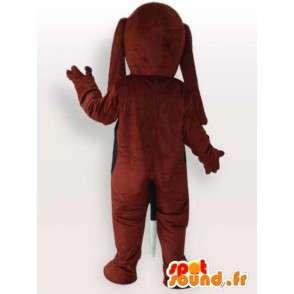 Koiran puku pitkän kuono - laadukas puku - MASFR00969 - koira Maskotteja
