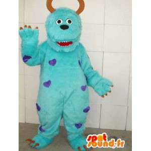 Mascot Monster & Cie - kuuluisa hirviöasu varusteineen - MASFR00106 - Monster & Cie Mascots