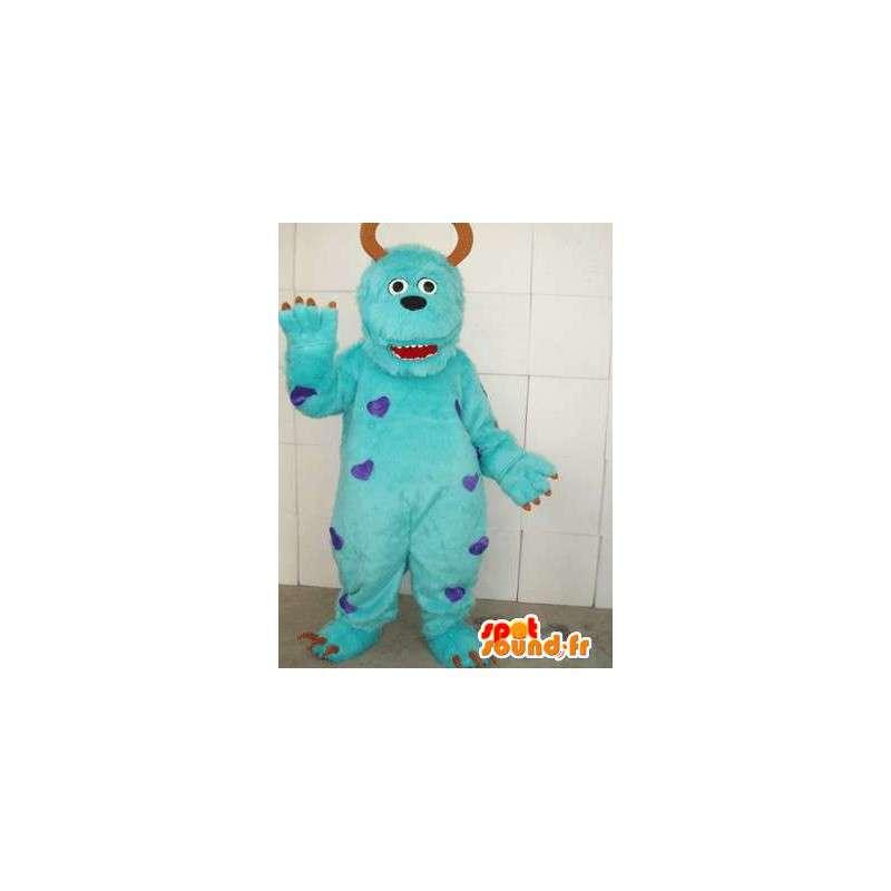 Mascot Monster & Cie - Monster-Kostüm feiert mit Zubehör - MASFR00106 - Maskottchen Monster & Cie