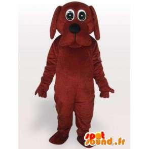 Øynene hund dress - utstoppet hund drakt - MASFR001089 - Dog Maskoter