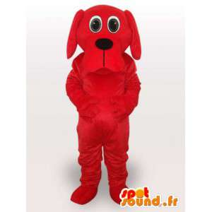 Cane costume grande bocca rossa - Disguise Dog