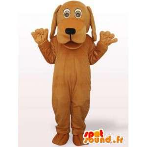 Hond kostuum met een groot hoofd - vermommen gevulde hond