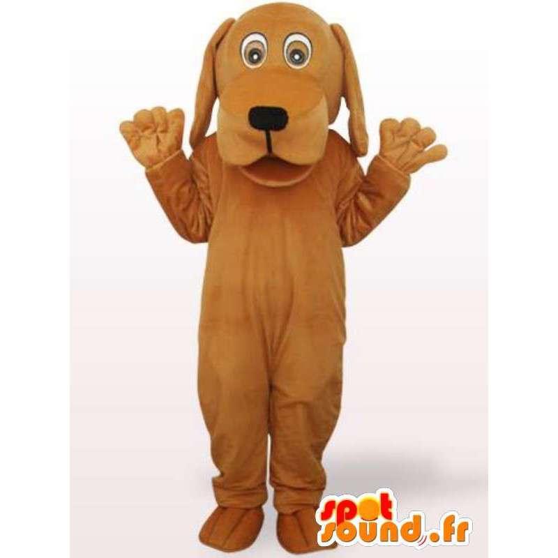 κοστούμι σκυλί με ένα μεγάλο κεφάλι - Μεταμφίεση γεμιστά σκύλο - MASFR00923 - Μασκότ Dog