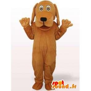 Pes kostým s velkou hlavou - převlek nadívané pes - MASFR00923 - psí Maskoti